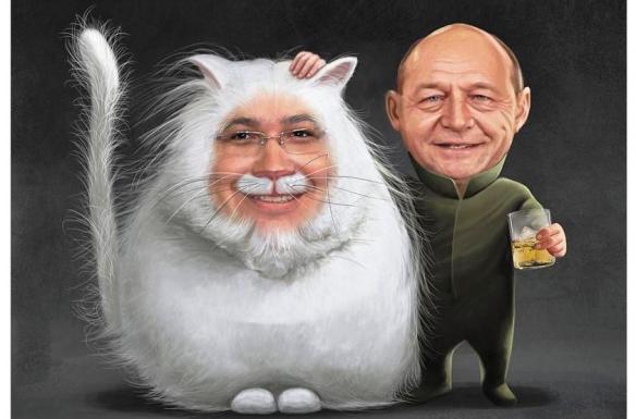 Ponta si Basescu