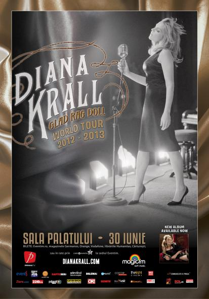 Poster Diana Krall 2013
