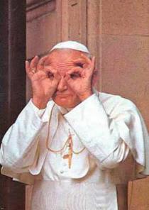 Papa Ioan Paul mason